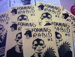 Foaming Rabid all over by KingNot