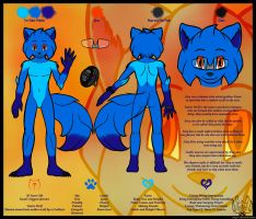 My Fursona Reference Sheet - Aleq by Alef-GP