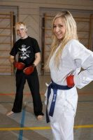 me at karate with fei by ViviBauernschmid