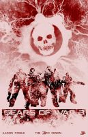 Gears of War 3 Poster 2 by The-3rd-Design