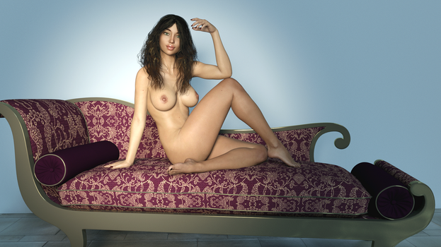 Andie just lounging 02 by Surreal-Muse