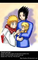 NaruSasu: Parents and Son by Blue-Feather-BF