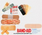 band-aid PNGs by gwendo0