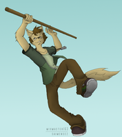 Oh yeah? by Hipster-Coyote