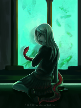 Slytherin by suzuia
