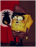 Hitler SquarePants by victor7234