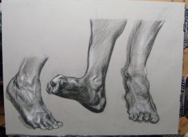 foot studies 3 by HeribertoMartinez