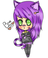 Bree The Kitty by DevilsxInk