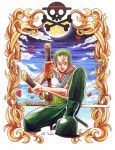 One Piece Roronoa Zoro collab by Endless-Ness