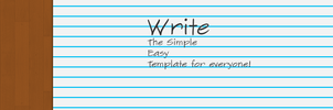 Write - Html Template by Grimmdev