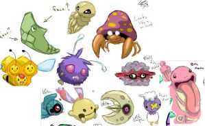 LULZ POKEMON by ThermalFaerie