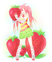 strawberry by minjei