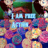 I am free action by Itzeditions