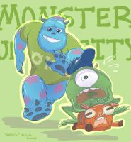 Monsters University by SOLAR-CiTRUS