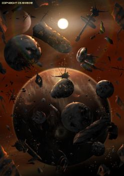The Inner Sphere Graveyard by Colourbrand
