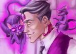 Welcome to Night Vale - Cecil and Khoshekh by Miezessin