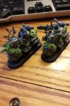 Chaos Space Marine Bikers conversions by GrindCrusherCorps