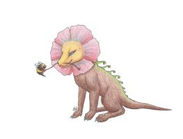 I am a Manly Flower Dragon by Wulvie-leigh