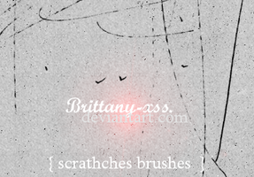 Brushes 02 Scratches by brittany-xss