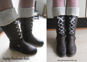 Tombraider boots by LadyRafira