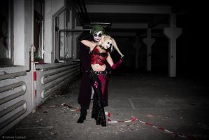 67: Joker and Harley Quinn by SimoneCz