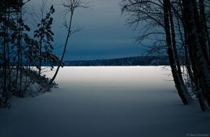 Dark Lake by Puuronen