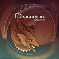Dragondust sticker by mirroreyesserval
