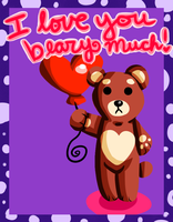 I Love You Beary Much! by Warped-Dragonfly