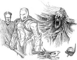 Sketches by Skirill