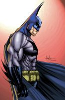 Mike Turner Batman by GreeneLantern