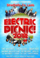 'Electric Picnic' Mock Poster Design by canyonlord