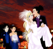 ShikaIno The Wedding by conejogalactiko