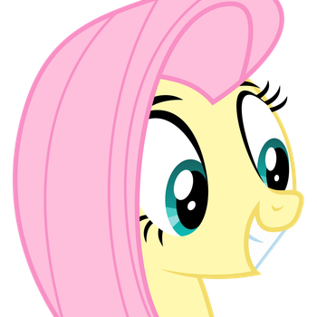 Fluttershy Vector by TizerFiction