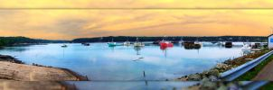 4 picture panorama of my hometown by Joe-Lynn-Design