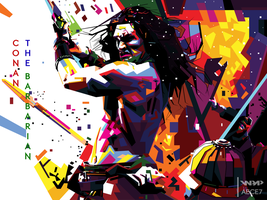 Conan the Barbarian in WPAP by AECE7