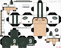 Mark Sanchez Jets Cubee by etchings13