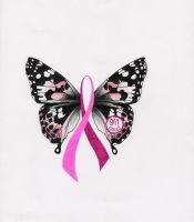 breast cancer logo by AljanSundance