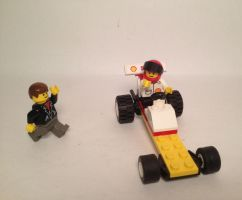Shell Dragster by WorldwideImage