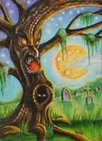 ATC: 'Eerie Tree' by catbones