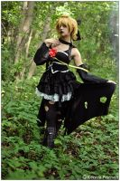 Vocaloid: Imitation Black by CosplayerWithCamera