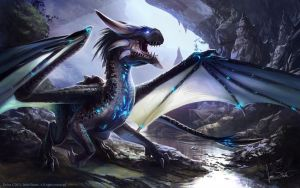 Delve Dragon by jameswolf