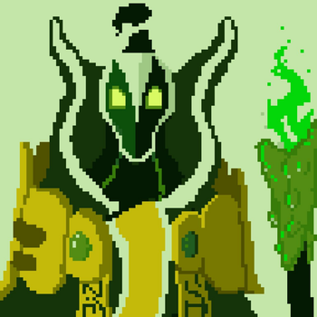 Rubick Pixel art by Hostcake