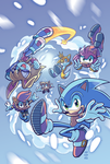 Sonic #279 Variant (Winter Re-Color) by Ziggyfin