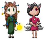 Anthro Chibis~! by Idellechi
