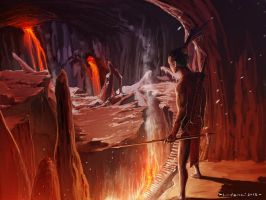 The Red Cave by hanonly1