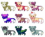 Tiger Adopts (2/9 OPEN--NOW $5/500 POINTS) by Ponkochi
