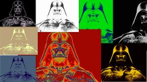 Darth Vader The Collage by Anonymousan