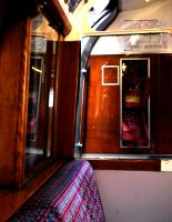 1938 Tube Train - Inside by michael-brown