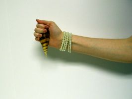 Shell in Hand Stock6 by D-is-for-Duck