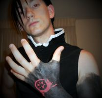 FMA:B - I am Greed by Sorata2011